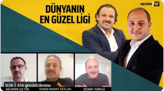 Yunus Murat Ceylan, Nesine TV'ye Konuk Oldu