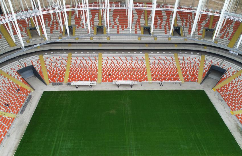 Yeni Adana Stadı Bitiyor