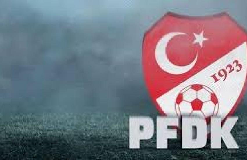 Pfdk'dan Adanaspor'a Ceza
