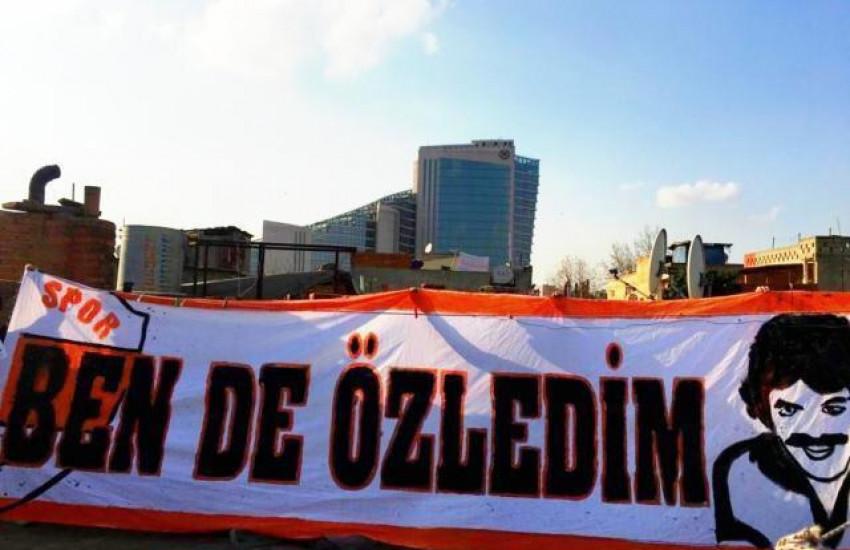 FERDİ TAYFUR FANLARINDAN PANKART ÇALIŞMASI